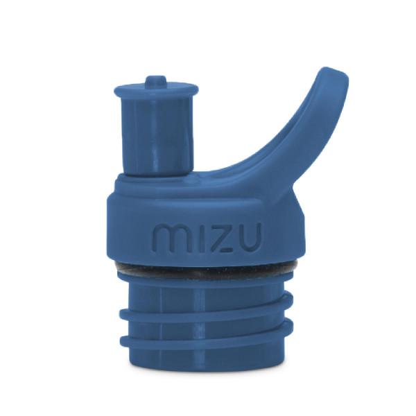 Sport Cap in dunkelblau von MIZU - Trinkflaschen Verschluss Push and Pull