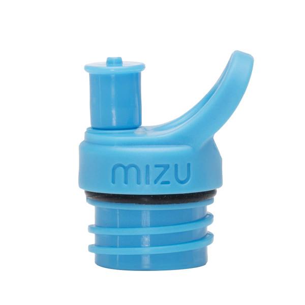 Sport Cap in hellblau von MIZU - Trinkflaschen Verschluss Push and Pull