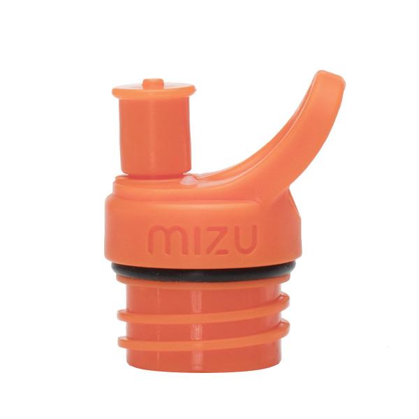 Sport Cap - Push and Pull Verschluss für MIZU Trinkflaschen, orange
