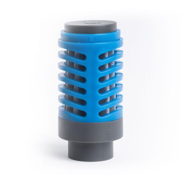 Der Wasserfilteraufsatz 360 Everyday Filter von MIZU Design. Der Trinkflaschenfilter von MIZU entfernt bis zu 99,9 % an Verunreinigungen.