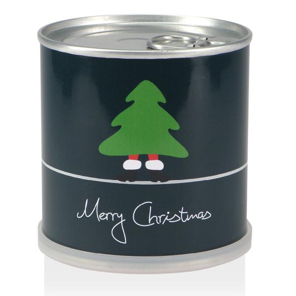 Weihnachtsbaum aus der Dose - Merry Christmas Tannenbaum