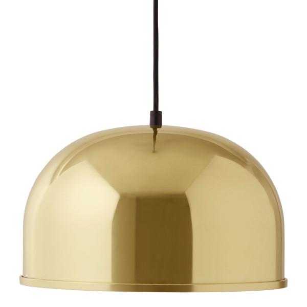Schicke Design Hängeleuchte von MENU - Pendelleuchte GM30 in brass (messing - gold)