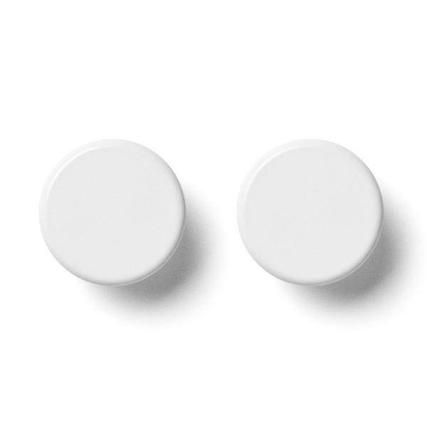 Wandhaken Knobs 2er-Set weiß