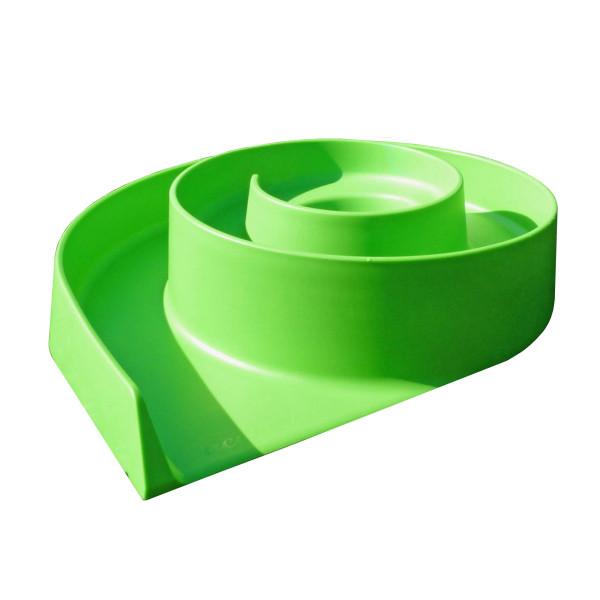 Minigolfbahn - Hindernis Schnecke acapulco von MyMinigolf - grüner, wetterbeständiger ABS Kunststoff.