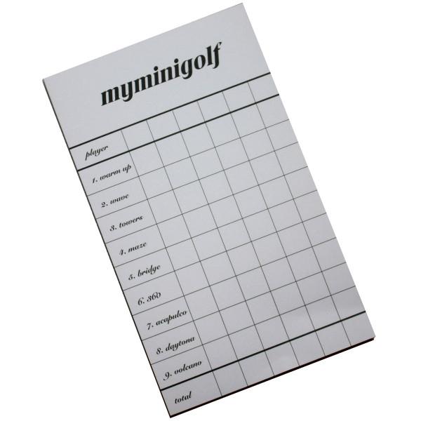Punkteblock für Minigolfspiel Basic, Professional oder putting XL von MyMinigolf
