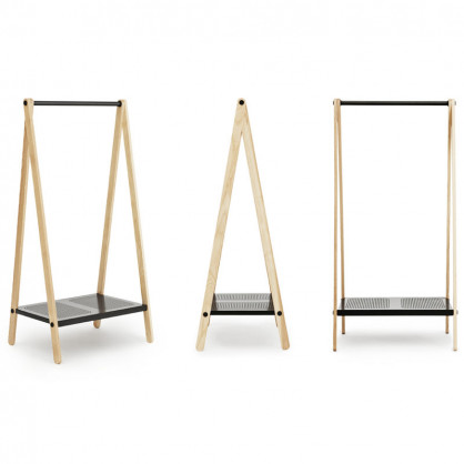 normann copenhagen garderobe toj klein dunkelgrau. Black Bedroom Furniture Sets. Home Design Ideas