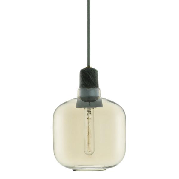 Hängeleuchte Amp Lamp gold/jade - small