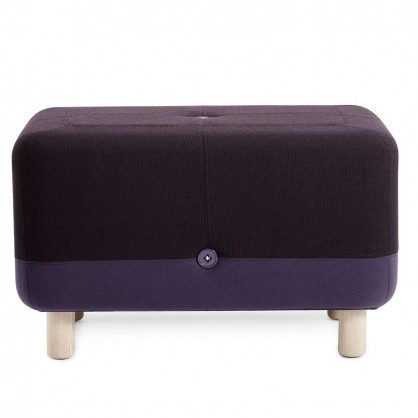 Hocker Sumo lila