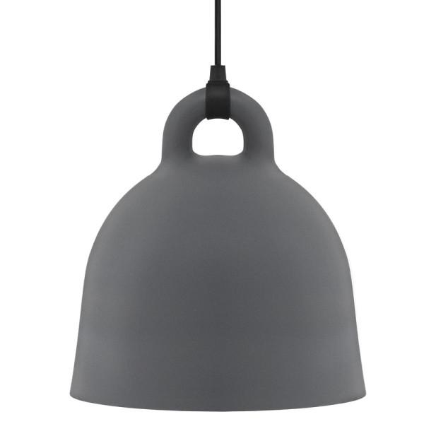 Lampe / Hängeleuchte Bell grau Ø35