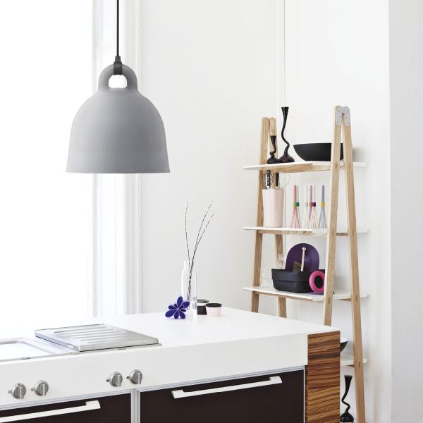 normann copenhagen lampe h ngeleuchte bell grau 35. Black Bedroom Furniture Sets. Home Design Ideas