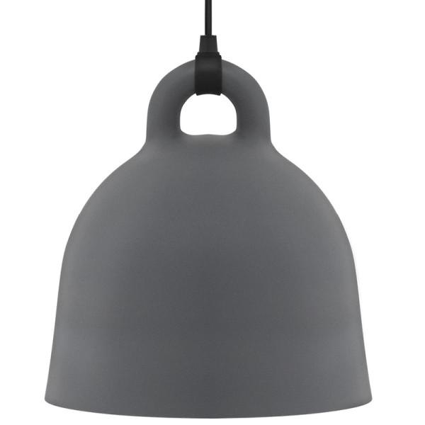 Lampe / Hängeleuchte Bell grau Ø55
