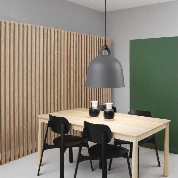 normann copenhagen lampe h ngeleuchte bell grau 55. Black Bedroom Furniture Sets. Home Design Ideas