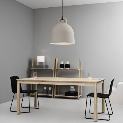 normann copenhagen lampe h ngeleuchte bell sand 55. Black Bedroom Furniture Sets. Home Design Ideas
