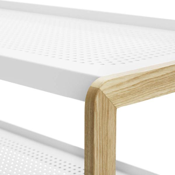 normann copenhagen schuhregal sko weiss. Black Bedroom Furniture Sets. Home Design Ideas