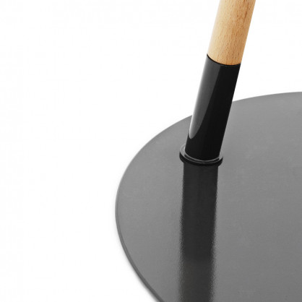 normann copenhagen stehlampe hello grau. Black Bedroom Furniture Sets. Home Design Ideas