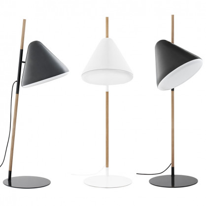 normann copenhagen stehlampe hello grau. Black Bedroom Furniture Sets. Home Design Ideas