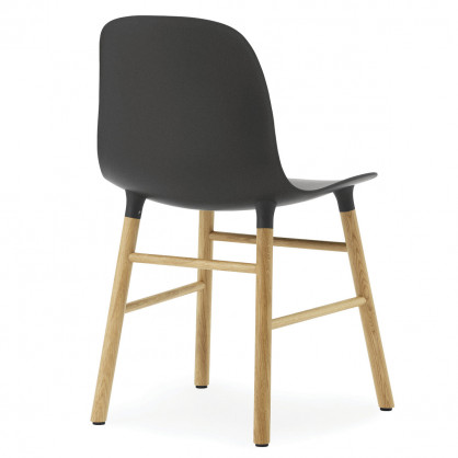 normann copenhagen stuhl form chair eiche schwarz. Black Bedroom Furniture Sets. Home Design Ideas