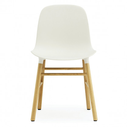 normann copenhagen stuhl form chair eiche weiss. Black Bedroom Furniture Sets. Home Design Ideas