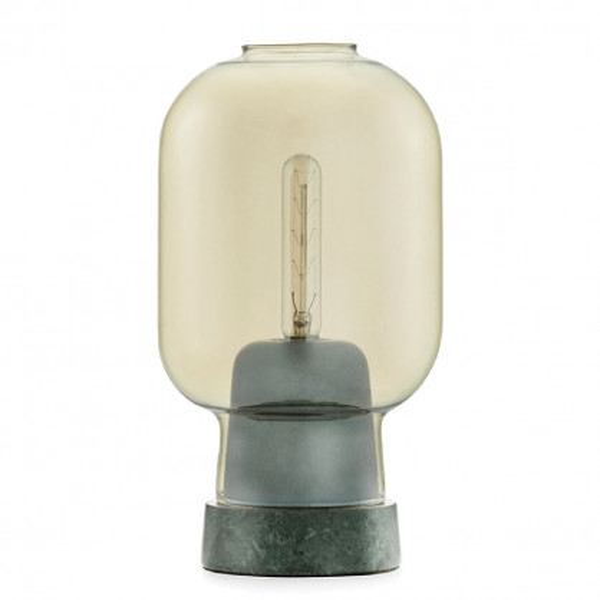 Tischlampe Amp Lamp gold/jade