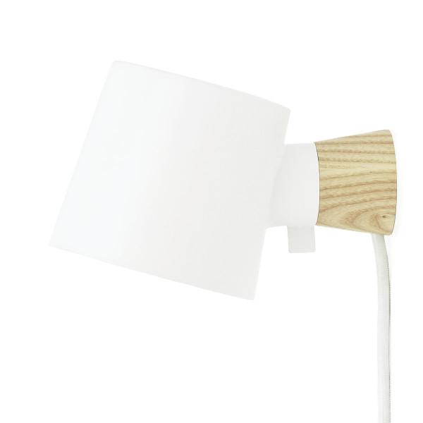 Wandlampe Rise, weiß