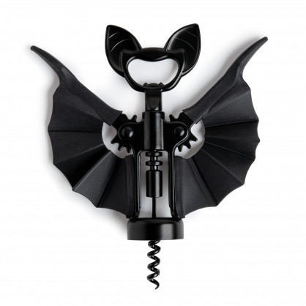 Der originelle Fledermaus Korkenzieher mit Kapselheber VINO by OTOTO Design.