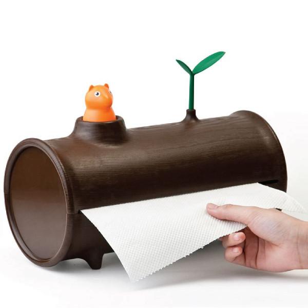 Küchenpapierabroller Eichhörnchen / Log n Roll Squirrel