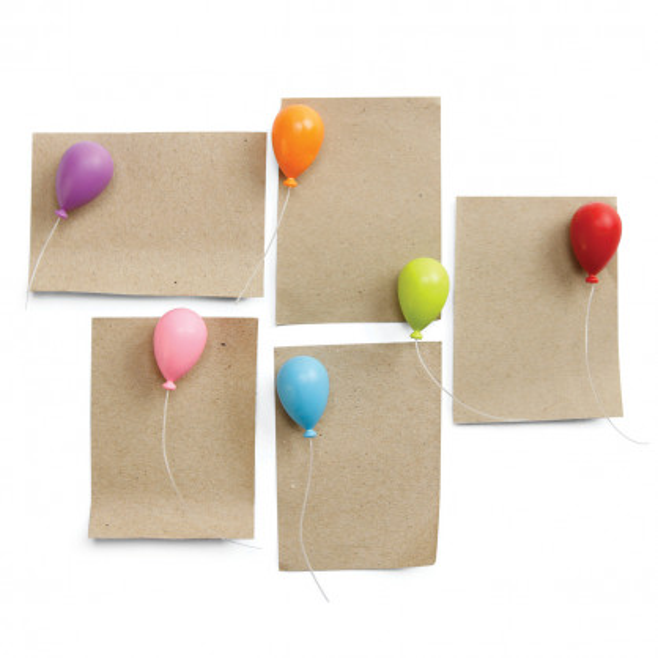 Magnet Luftballons 6er-Set