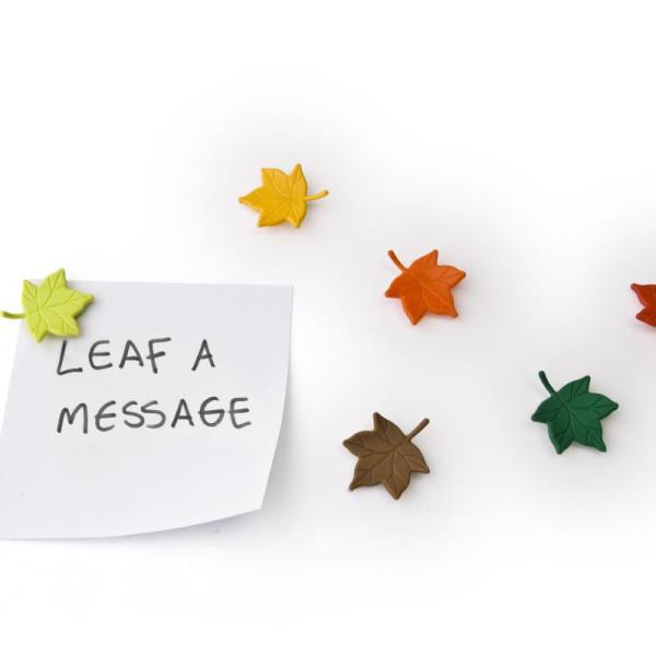 Magnetblätter 6er-Set / Leaf a Message