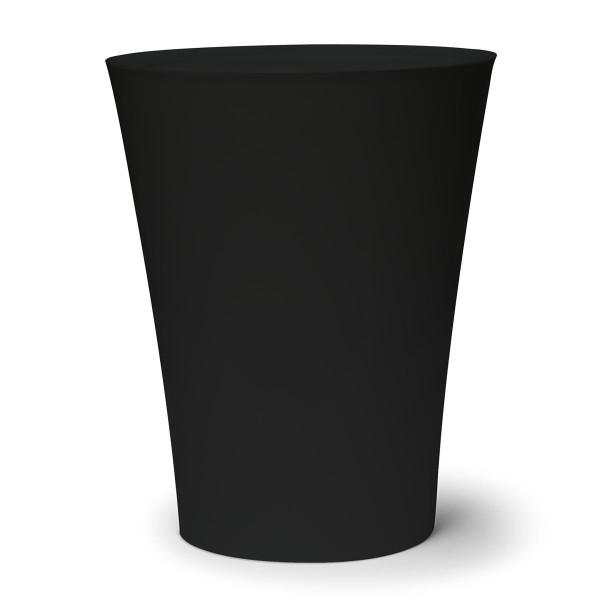 Mini-Mülleimer / Tischeimer Flip Bin schwarz