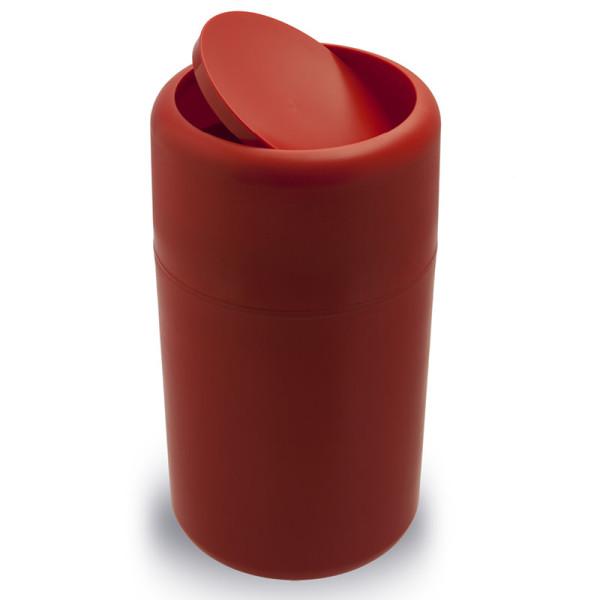 Mülleimer Capsule Flip rot