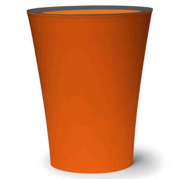 Mülleimer Flip Bin orange