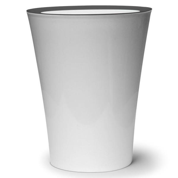 Mülleimer Flip Bin weiß