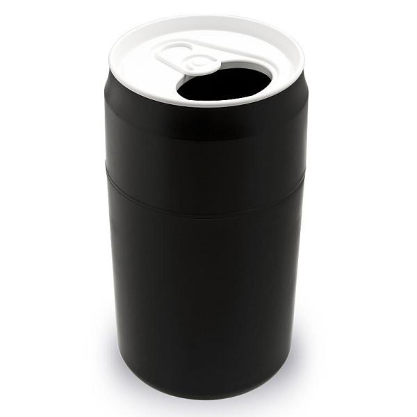 Mülleimer Getränke-Dose / Capsule Can schwarz