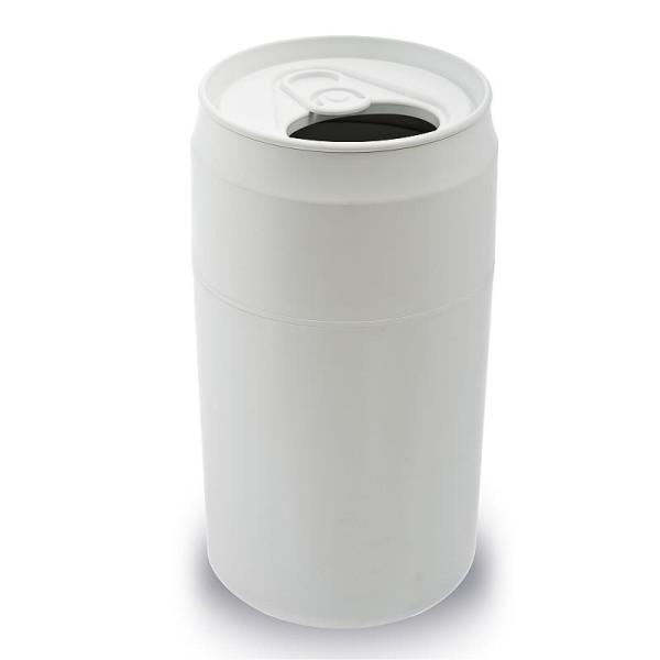 Mülleimer Getränke-Dose / Capsule Can weiß