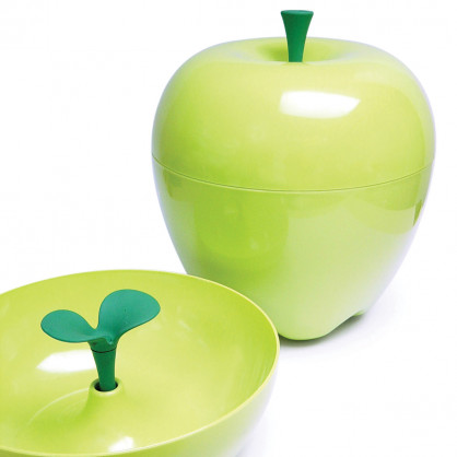 Obstschale Happle Container Apfel grün, 30 x 30