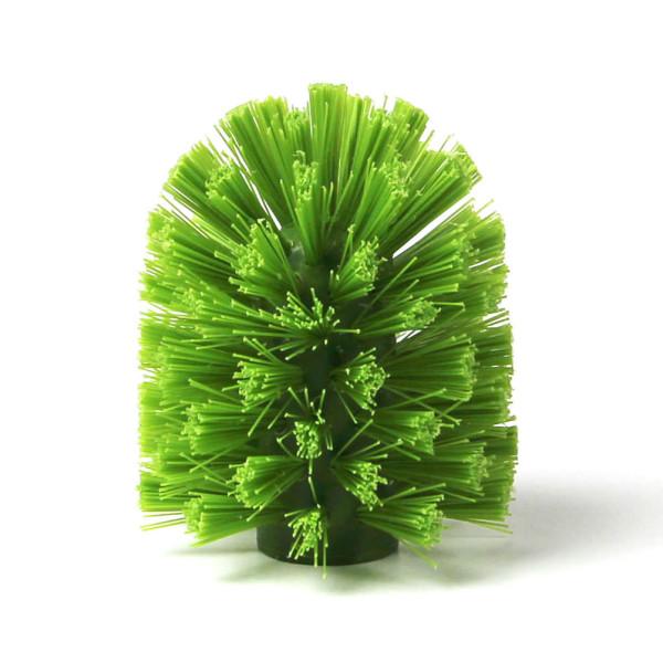 Grüner Ersatzbürstenkopf für die Kaktus Toilettenbürste Cacbrush von Qualy Design.