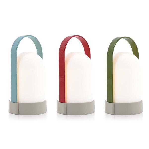 Mobile Lampen URI Piccolos von Remember Design. Akku Leuchten 3er-Set bunt. Indoorlampe, Outdoorlampe, Campinglampe, Gartenlampe ...