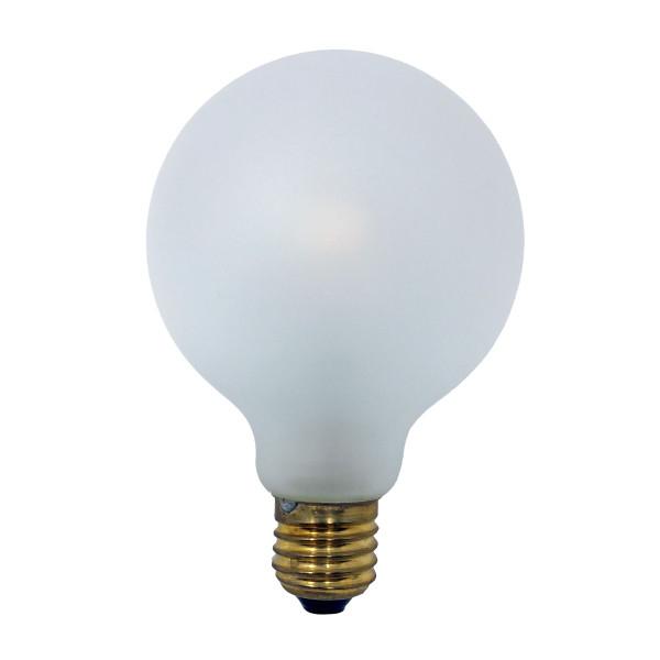 Ersatz-Glühbirne für Legelampe Legelampe - weiss satinierte, große Energiesparlampe.