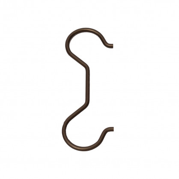 Siamesischer Kleiderhaken Anna in verschiedenen Farben von Raumgestalt an Kleiderstange - mit Taschenriemen.