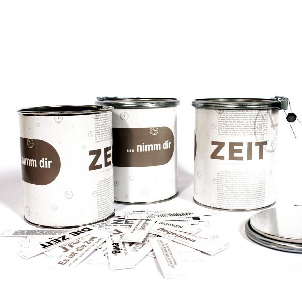 Nimm dir ZEIT - Sprüchedose