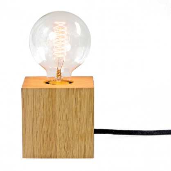 Quaderleuchte mit Glühfadenlampe