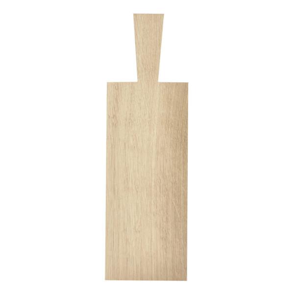Servierbrett / Brotzeitbrett, 29 x 12 cm - Eiche (halbstark - 1,2 cm) - Holzbrett von Raumgestalt