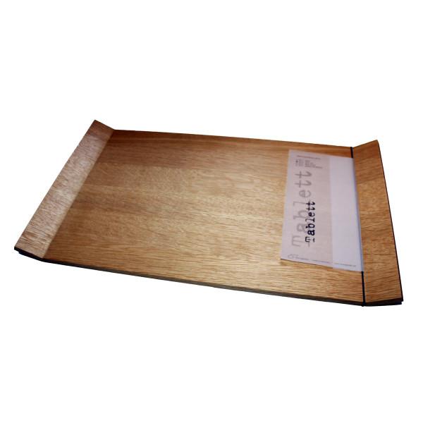 Tablett / Servierplatte Eiche dunkel
