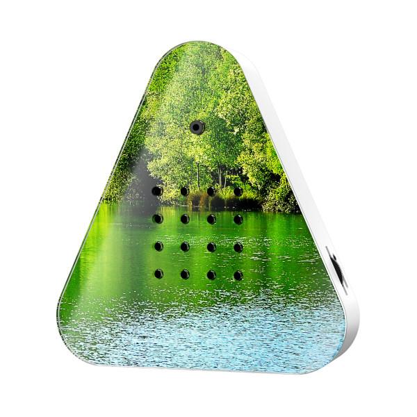 Lakesidebox Waldseemotiv - Relax Natursound Waldsee Box. Natur Soundbox mit Bewegungsmelder. Original Lakesideboxen.