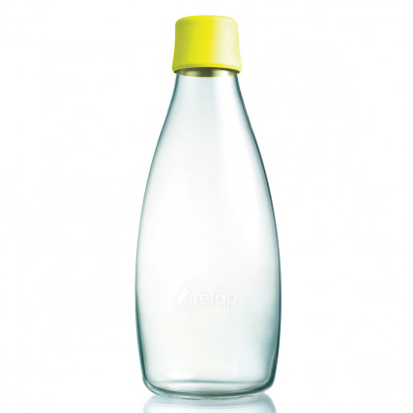 Trinkflasche 0,8l lemon