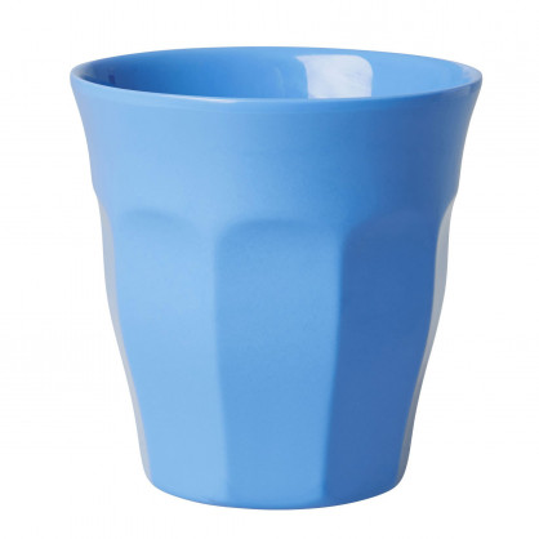 Melamin Becher blau