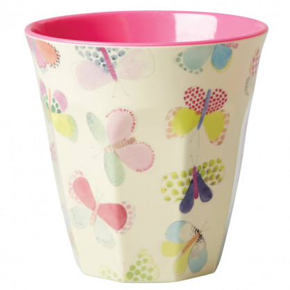 Melamin Becher medium, Butterfly
