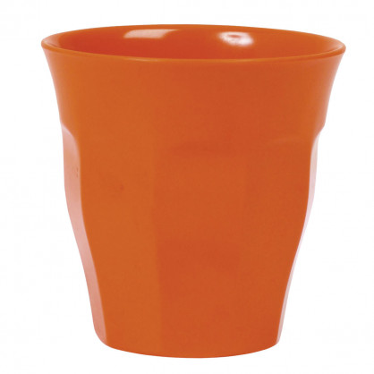Melamin Becher orange