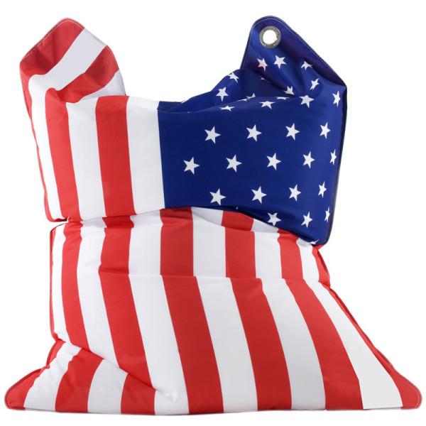 Sitzsack Fashion Bull USA Stars & Stripes