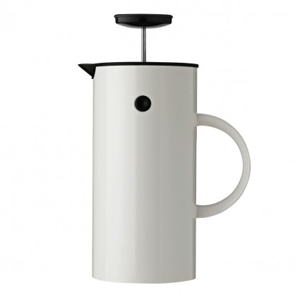 EM Press Kaffeezubereiter 1 L, weiß - Stelton Design